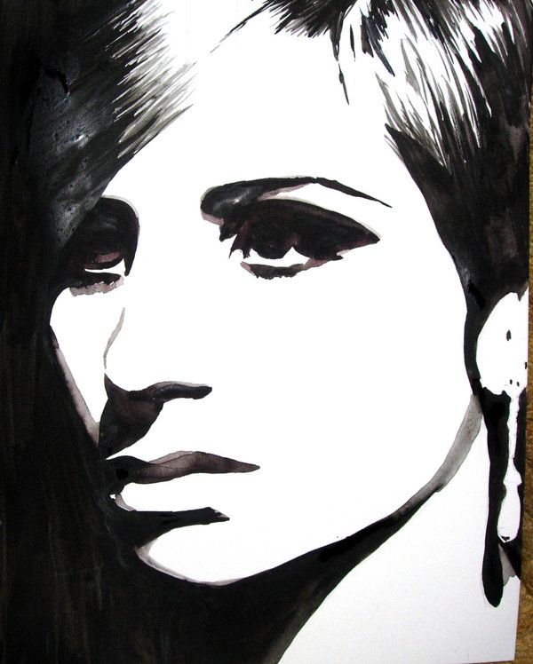 Barbra Streisand Musician Art Beatles Art Portrait Art