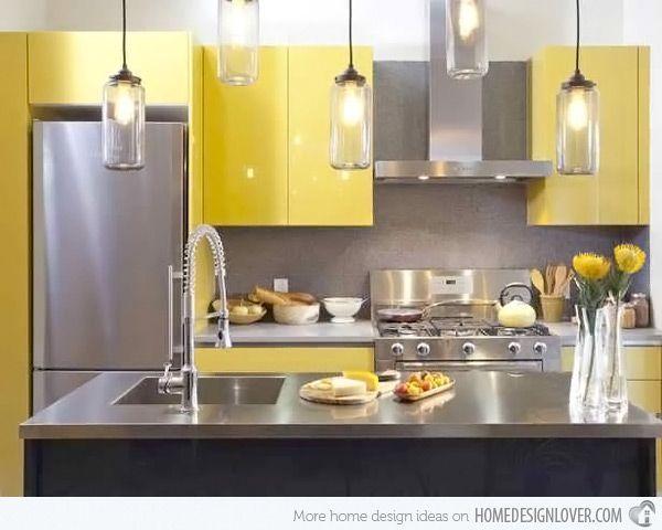 15 yellow modular kitchen ideas | kitchens, yellow kitchen decor