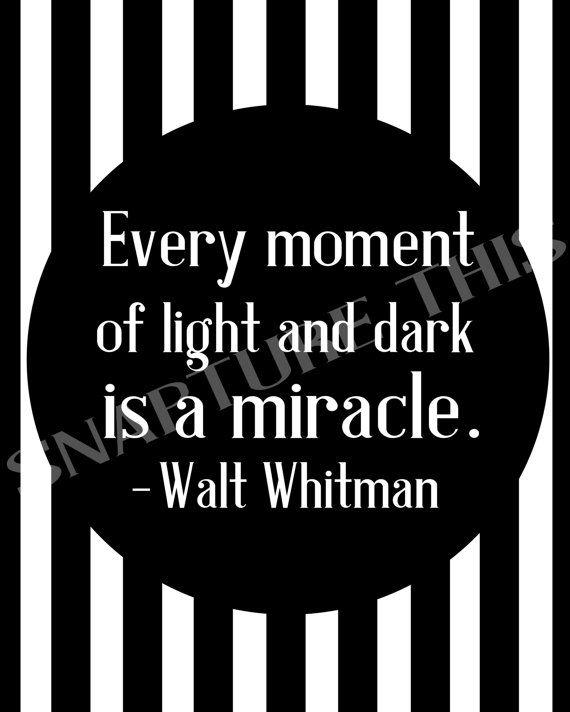 Walt Whitman Digital Print  Printable Poster  Wall by SnaptureThis