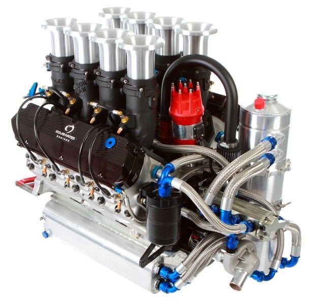 Roush Yates 410 Motor Car Engine Engineering Sprint Cars