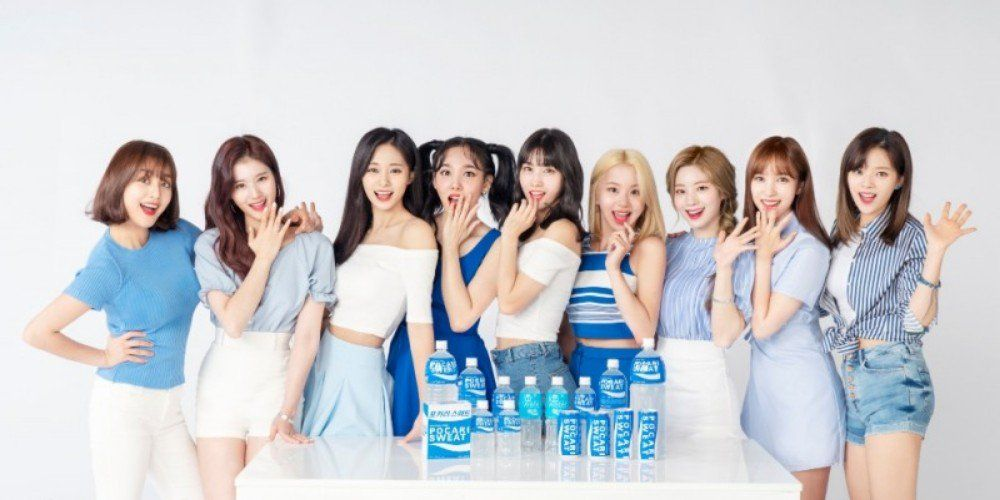 'Pocari Sweat' selects TWICE as their model for the 3rd