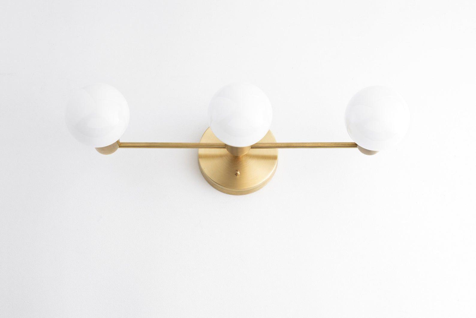 Photo of Bathroom Lighting – Farmhouse Light – Bathroom Vanity – Brass vanity – Brass Light – Vanity Light – Rustic – Retro Light – Model No. 0518