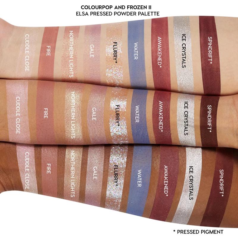 Elsa Eyeshadow, Eyeshadow palette, Makeup collection