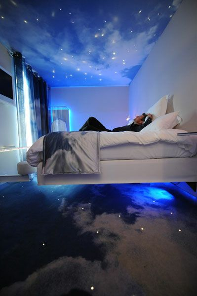 Starry Night Room At One By The Five Hotel Paris France