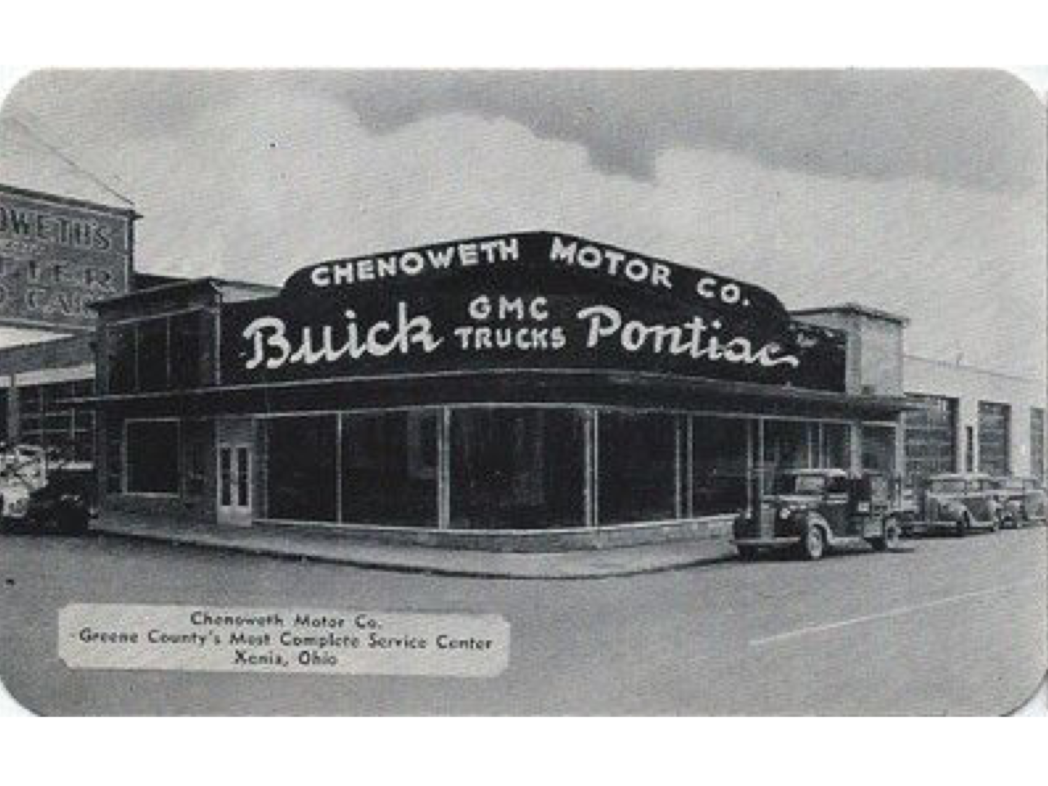 Chenoweth Motor Co Buick Pontiac Gmc Dealership Xenia Ohio