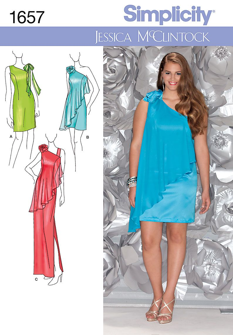 Simplicity Creative Group - Misses\' & Plus Size Special Occasion ...
