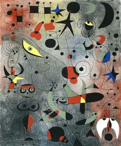 Surréalisme - Joan Miro - Constellatio | Joan miro, Les arts, Peintures miro