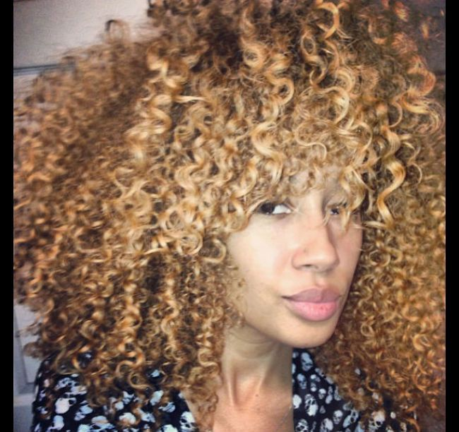 awesome Ivette Talks Blonde Natural Hair And Her Type 3 Natural Hair ...