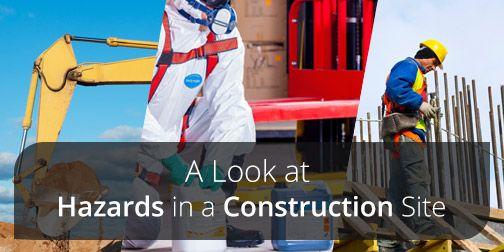 common construction site hazards