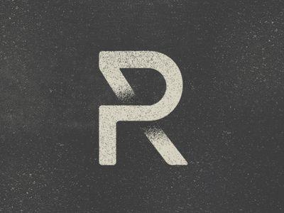 Pr Symbol Typographie Logo Lettre Logos