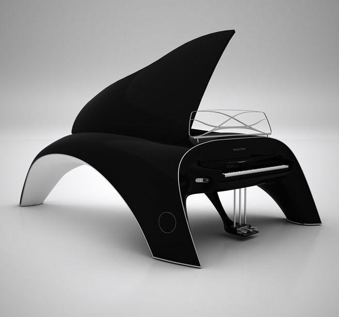 Whaletone Piano via Gizmodo.com #design, #modern,