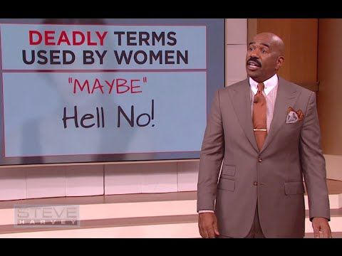 Steve Harvey Shares Some Of The Deadly Terms Women Use In Adorable Steve Harvey Poem