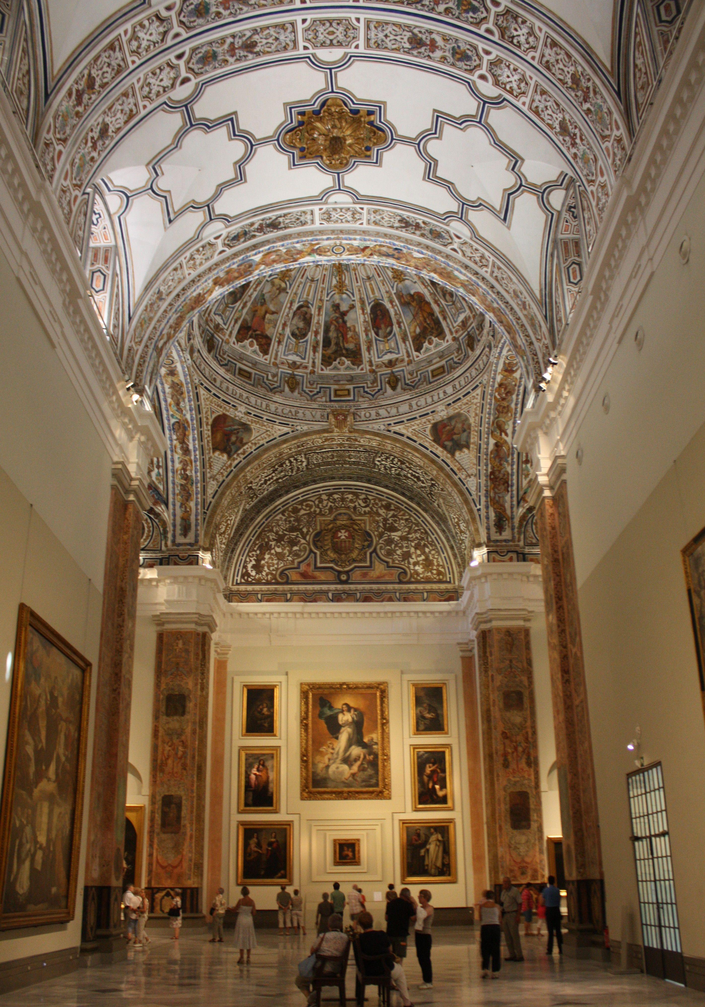 Museo de Bellas Artes de Sevilla ( Iglesia del Convento de La Merced)  Spain,