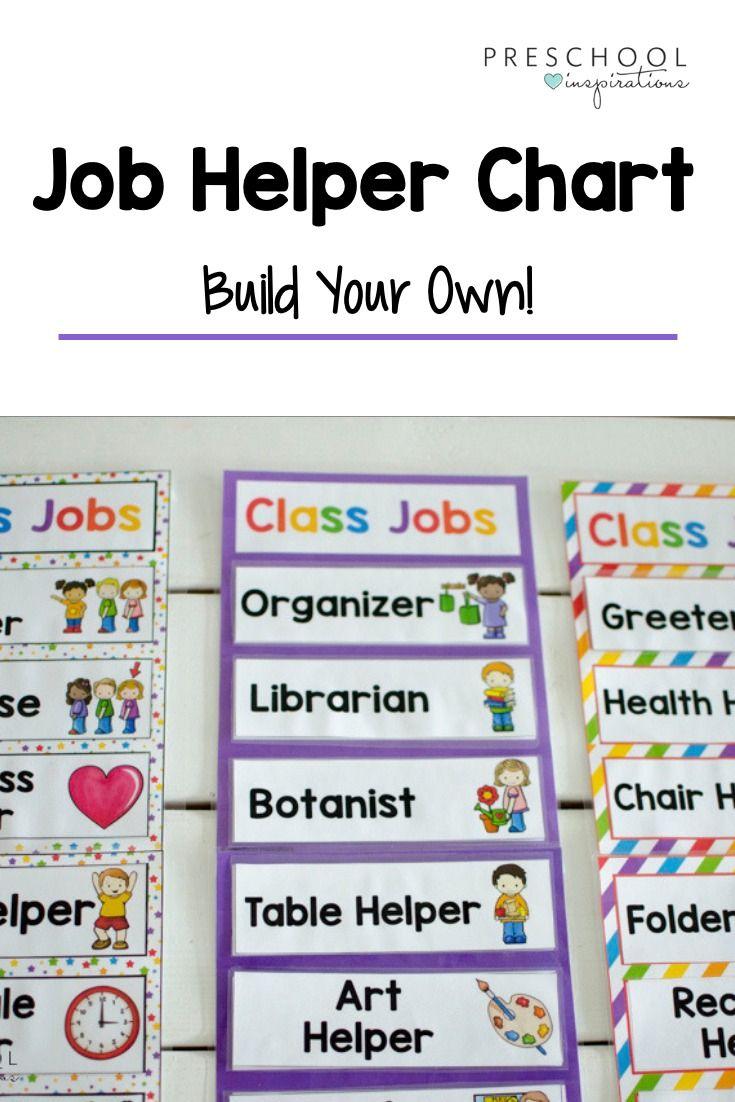 Class jobs chart editable and customizable job chart