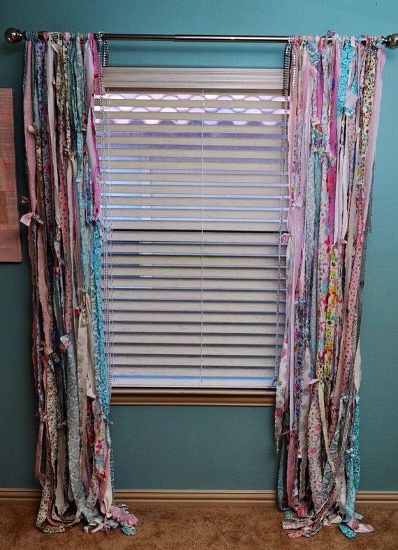 Dye Drop Cloth Curtains