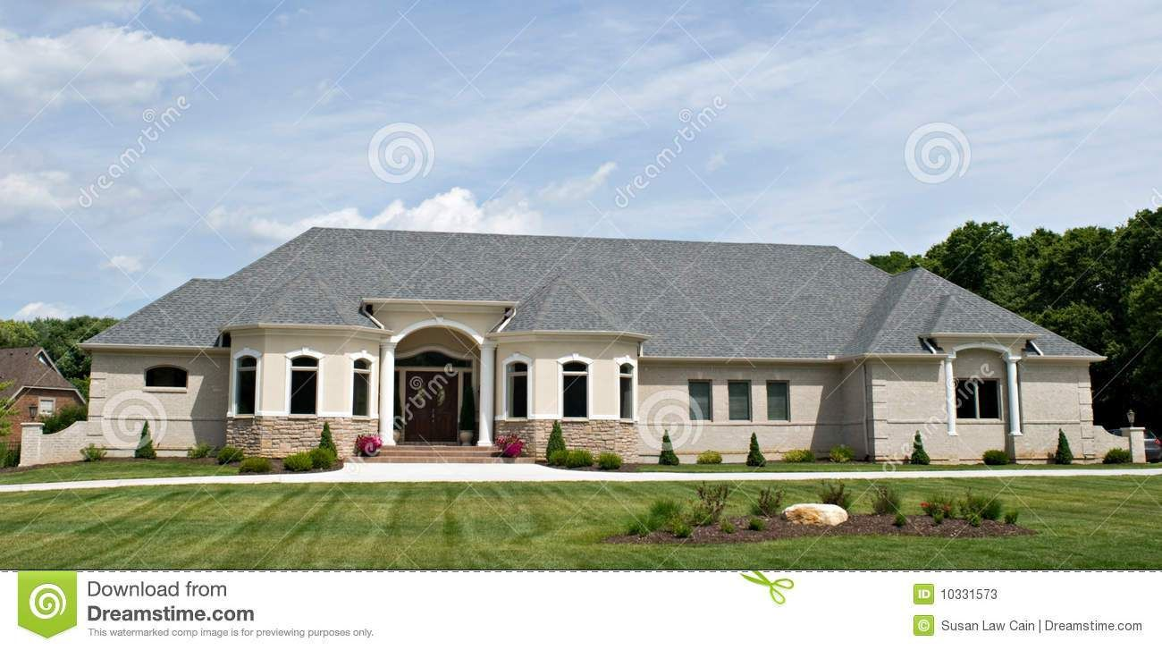 Large Luxury Ranch Style Home Redefining Face Beauty Beautiful Homes Weekly