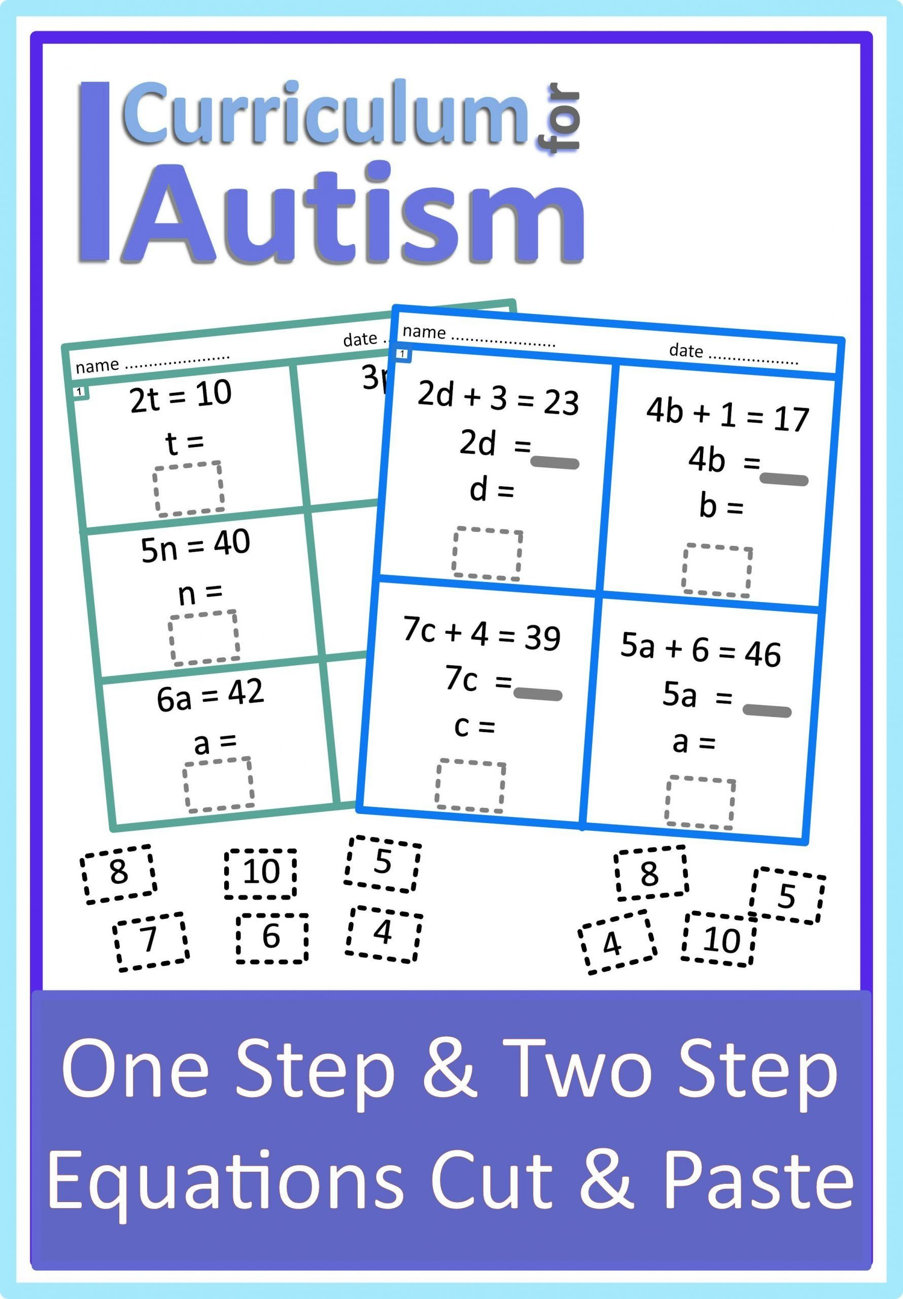 Two Step Equations Coloring Worksheet Pin On Math In