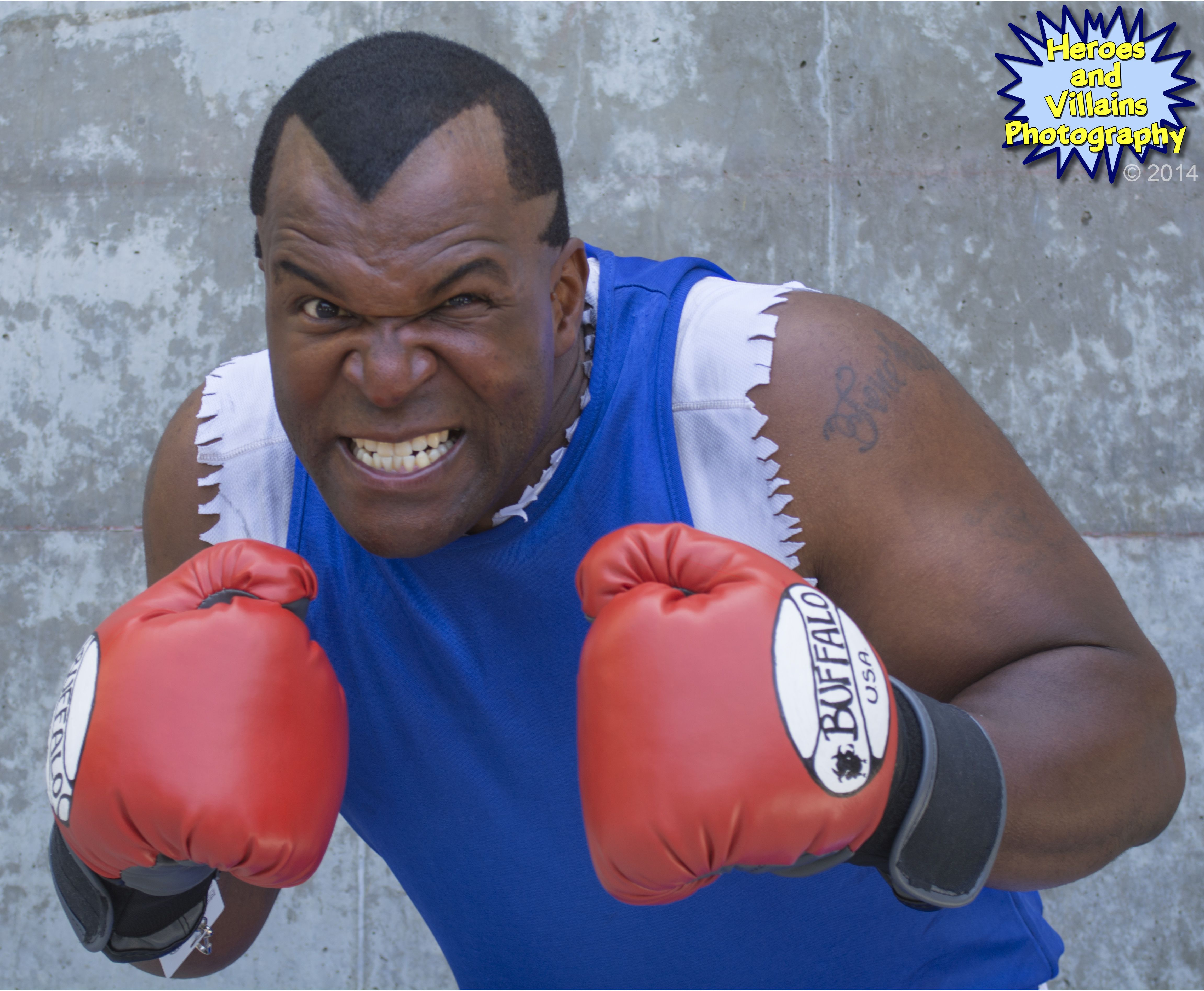 538f94455 Mike Tyson from Mike Tyson's Punch Out cosplay at FanimeCon in San Jose,  2014.