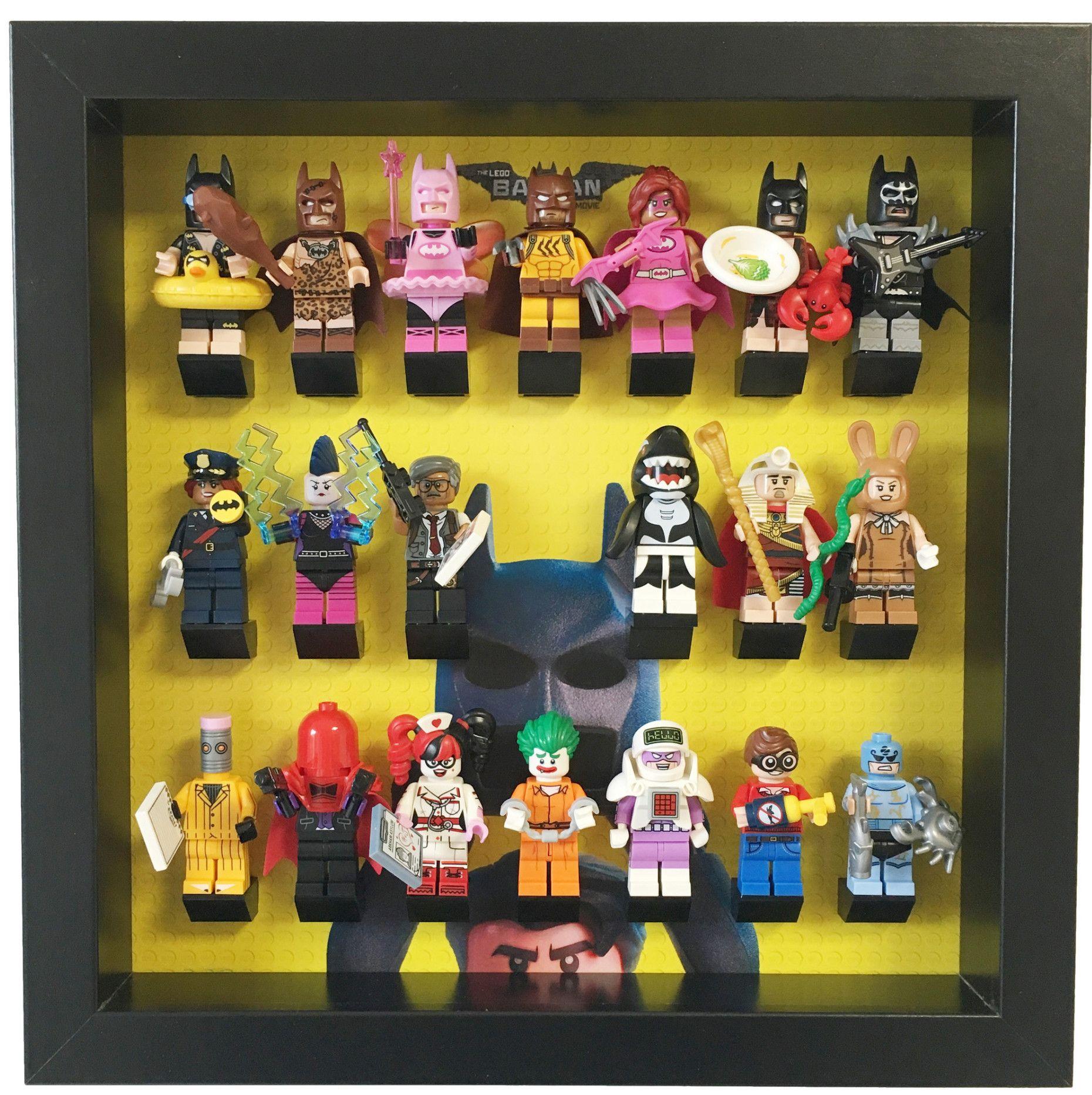 The Lego Batman Movie Minifigures frame