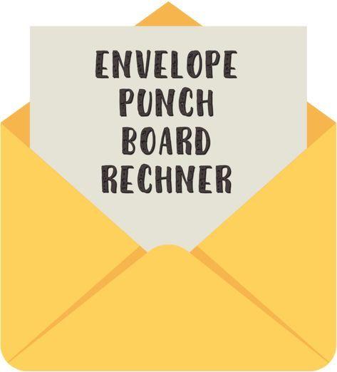 Envelope Punch Board Rechner • StampinClub – Stampin' Up! Ideen mit Anleitungen und Onlineshop
