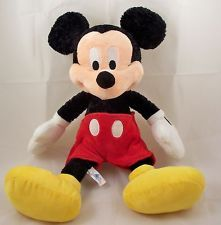 "Mickey Mouse Disneyland Resort Walt Disney 18"" Plush Stuffed Animal Souvenir EUC"