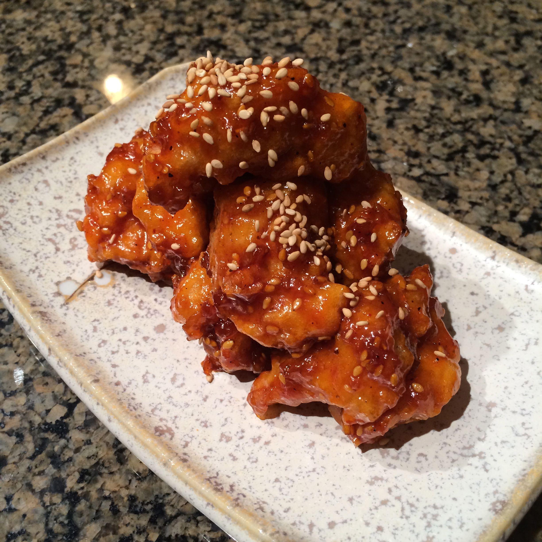 Korean fried chicken bites recipe fried chicken recipes fried korean fried chicken bites forumfinder Images