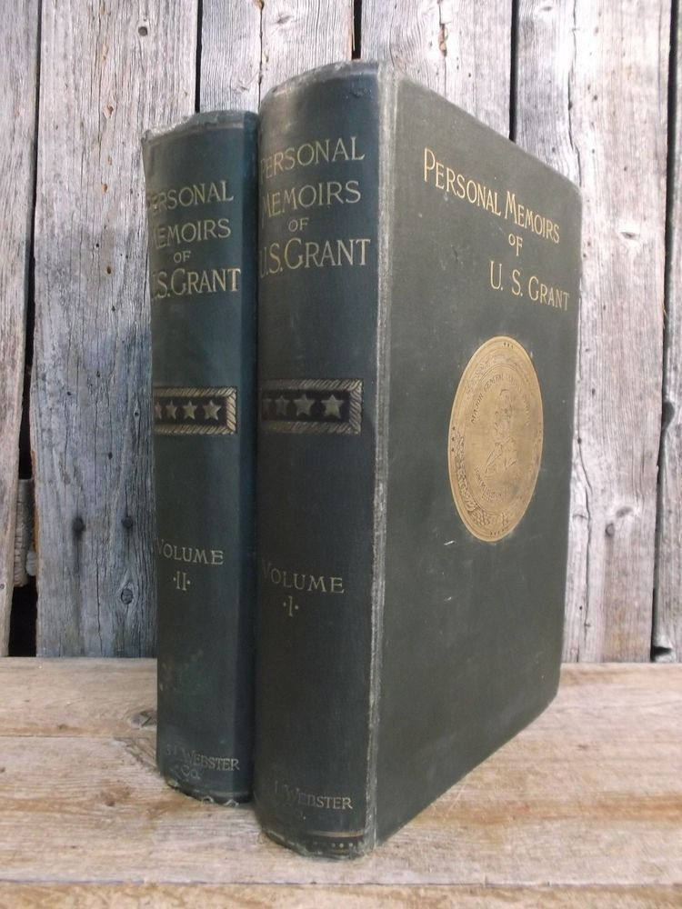 Personal memoirs of us grant 1st1st 18851886 maps