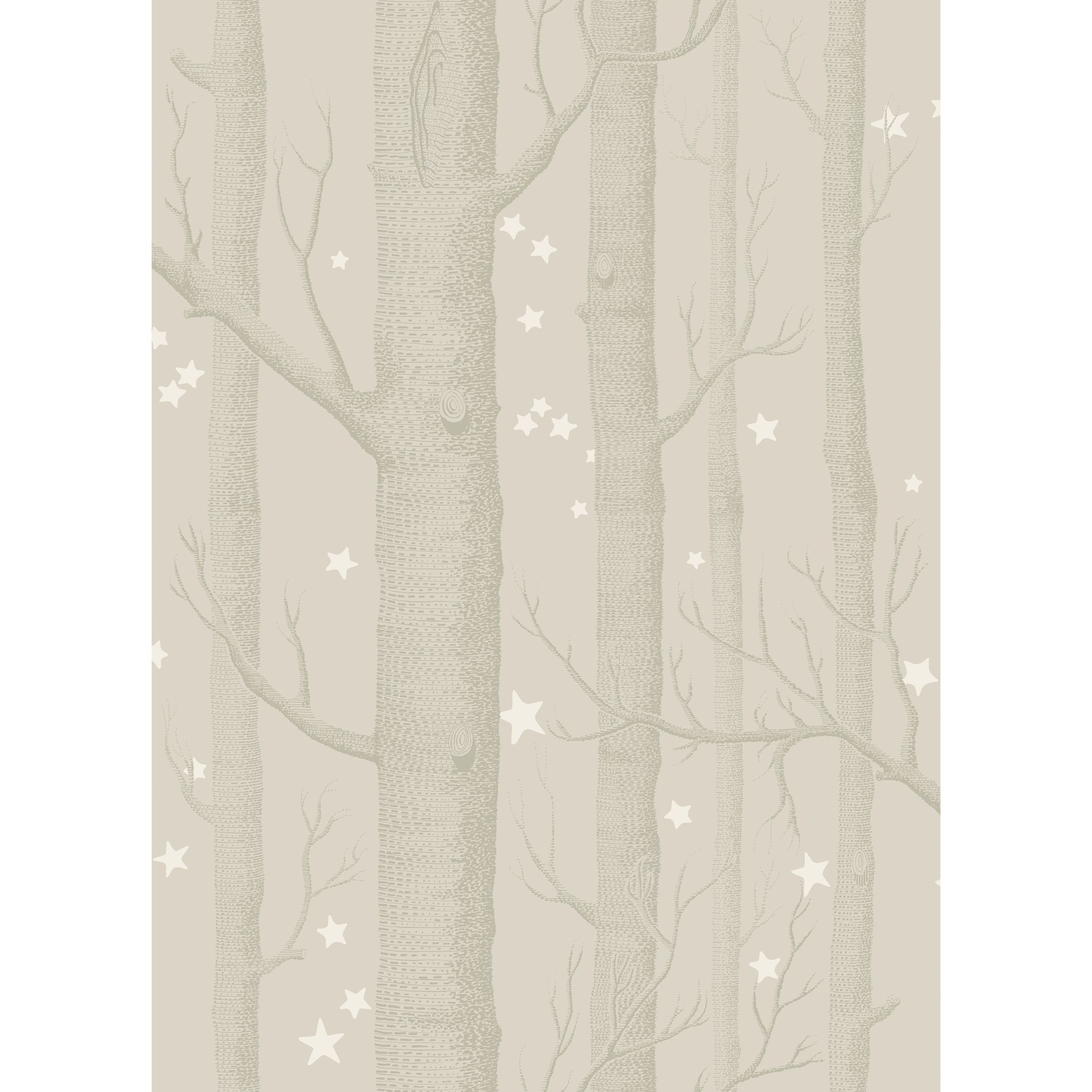 Cole & Son Woods & Stars Wallpaper in 2020 Wood stars