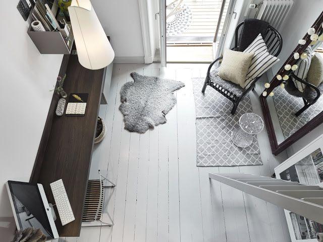 Sobriedad y diseño en un apartamento.