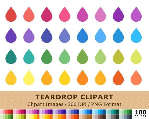 100 Teardrop Clipart, Tear Drop Clip Art, Hydrate Water Drop