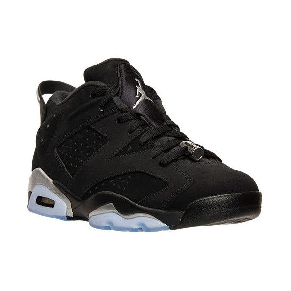 08def7aa5749 Men s Air Jordan Retro 6 Low Basketball Shoes ( 175) ❤ liked on Polyvore  featuring