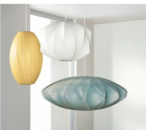 Lighting Multicolored Nelson Pendants At Room Board Remodelista