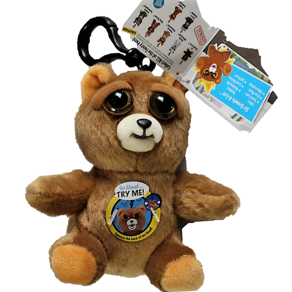 Feisty Pets Feature 4 5 Inch Plush Clip Sir Growls A Lot Pets Plush Animal Figures