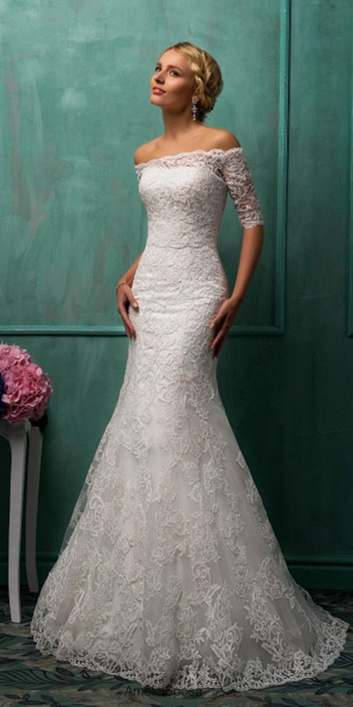 36 Lace Wedding Dresses That You Will Absolutely Love | Lace wedding ...