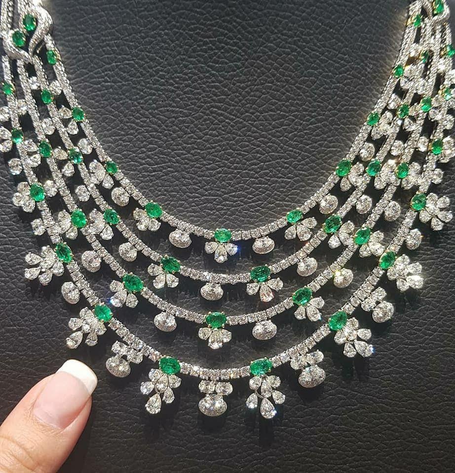 Luxurydiamondnecklace topclass jewelries pinterest diamond
