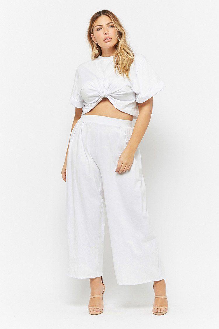 e0381337cdb Product Name Rebdolls Inc. Plus Size Crop Top   Pants Set