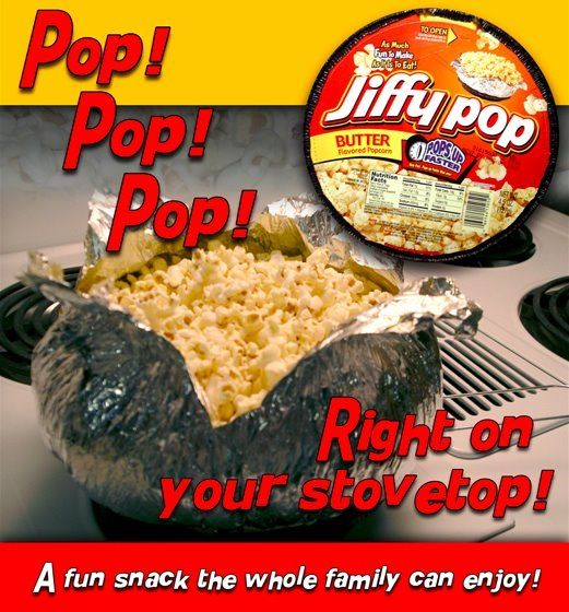 Jiffy Pop Almost Impossible To Find Nowadays But Still Fun If