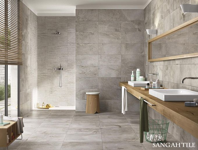 Tile  Stoneway Collection 30x60, 60x60 /by RAGNO #Sangahtile #tile #tiles