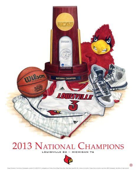 Louisville Bb Open Champs Print Louisville Cardinals Basketball Louisville Cardinals Louisville