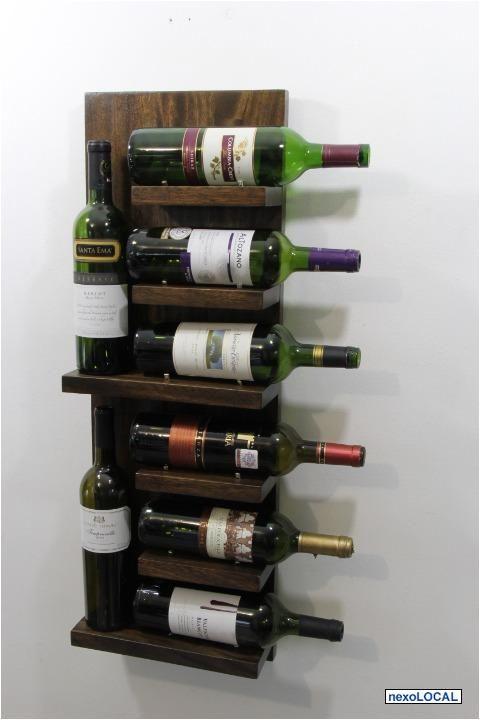Botellero en la pared vino pinterest - Botellero de pared ...