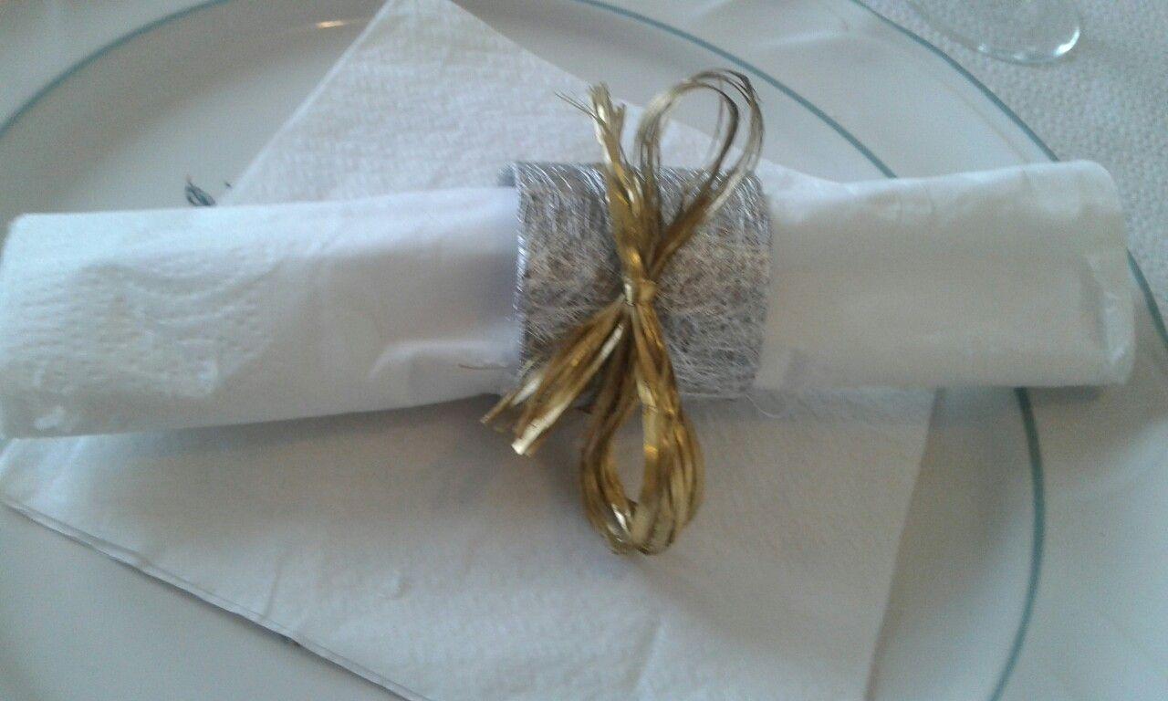Rond De Serviette Noel Fait Maison rouleau papier de toilette et voilà un jolie rond serviette