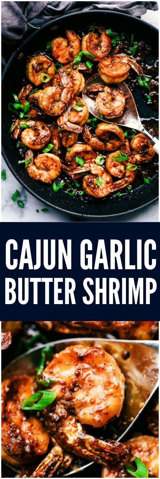 Cajun Garlic Butter Shrimp | The Recipe Critic