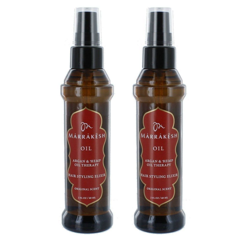 Earthly Body Marrakesh Oil Hair Styling Elixir With Hemp And Argan Oils Hair And Scalp Treatments Oil 2 Oz Set Of 2 Hair Oil Argan Oil Hair Scalp Treatment