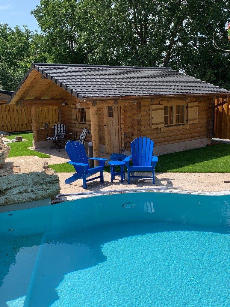 20+ Garten mit pool und gartenhaus Trends