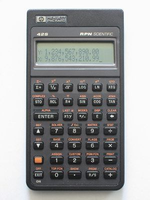 Hp S Mike Had One Of These Weird Calculators For His Work Never