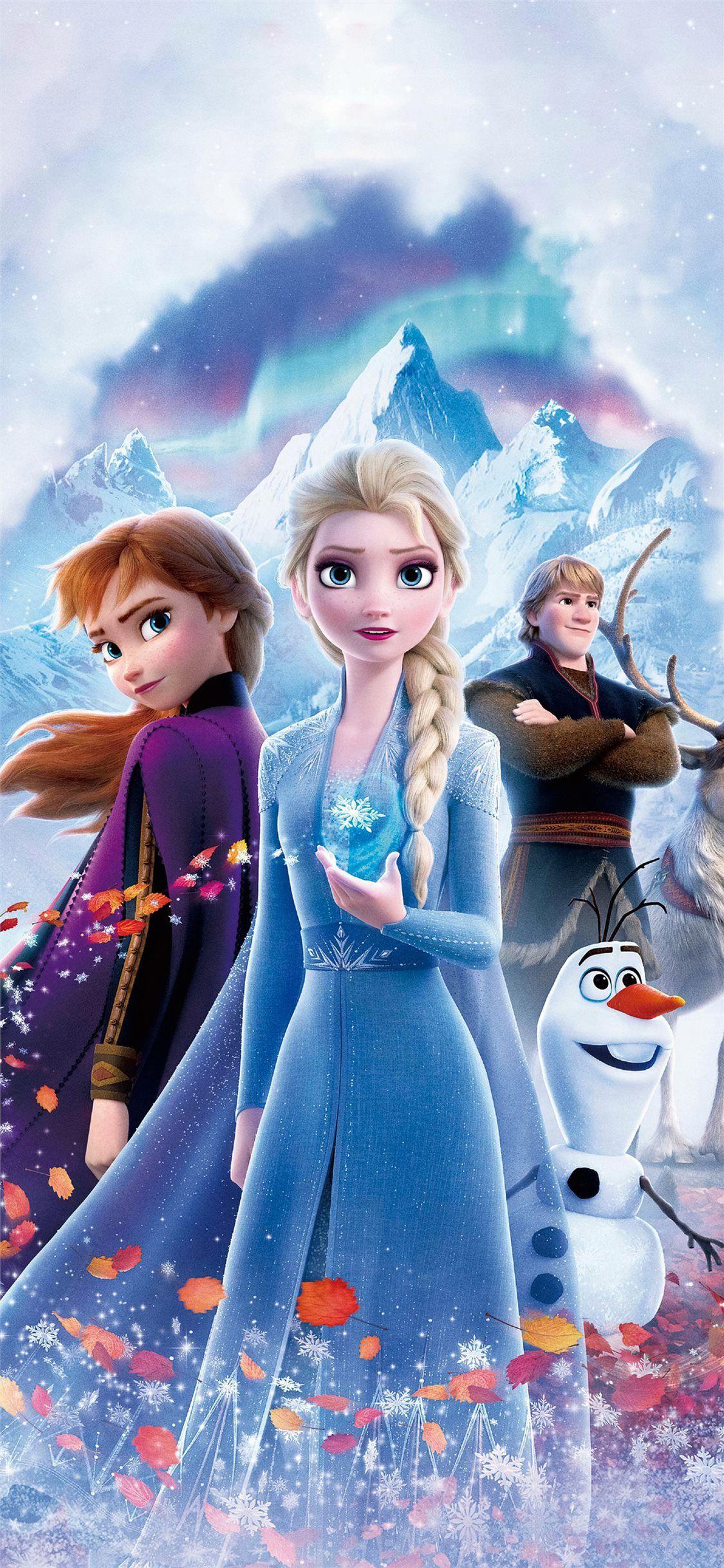 Frozen 2 Poster 4k Frozen Wallpaper Frozen Poster Frozen Disney Movie