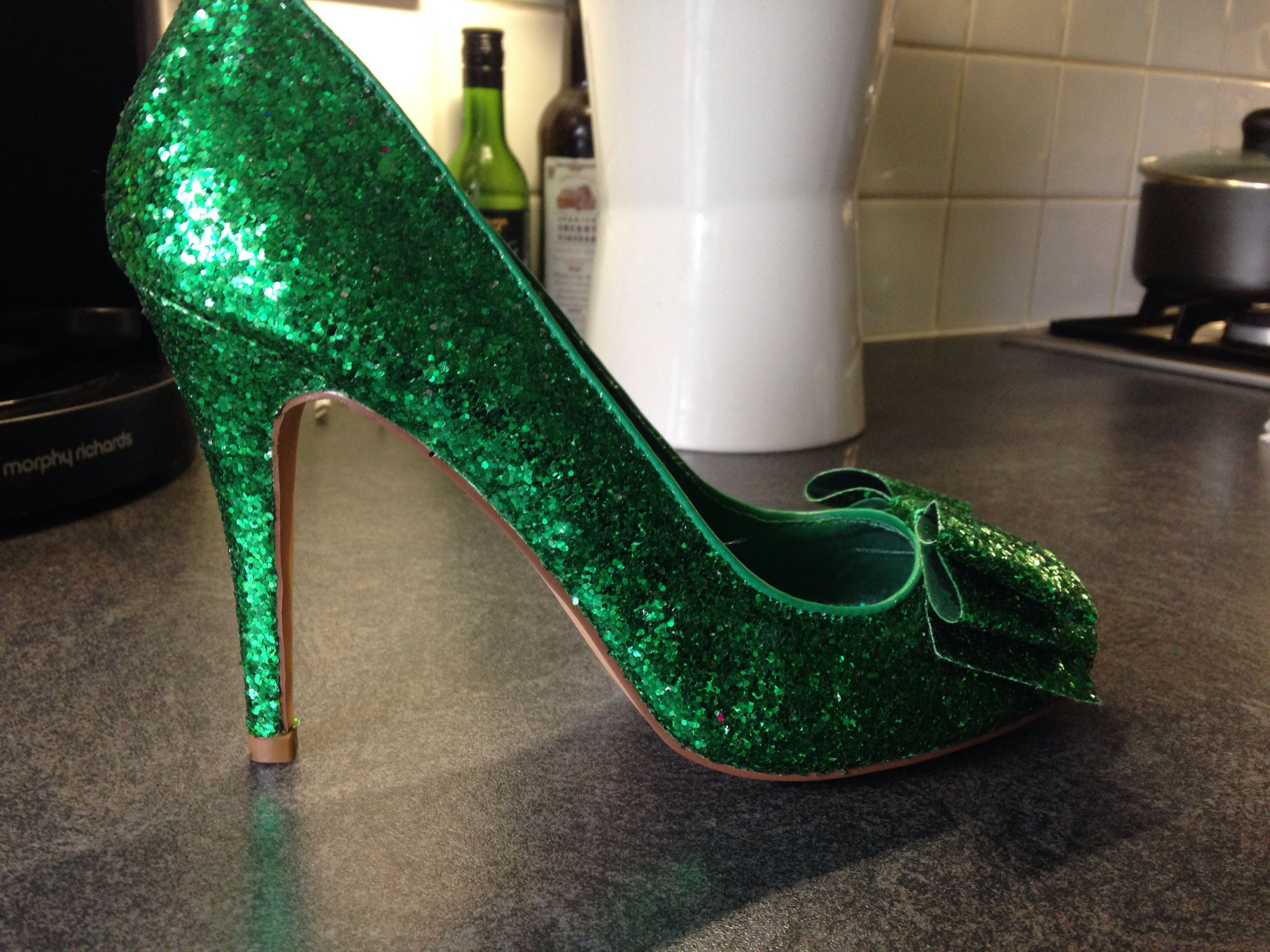 Pinterest | Glitter toms, Glitter shoes, Baby toms