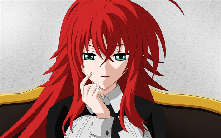 Download wallpapers High School DxD, Rias Gremory