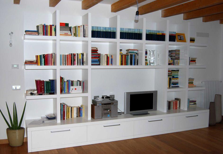 Dipingere soggiorno ~ Risultati immagini per come dipingere una libreria in