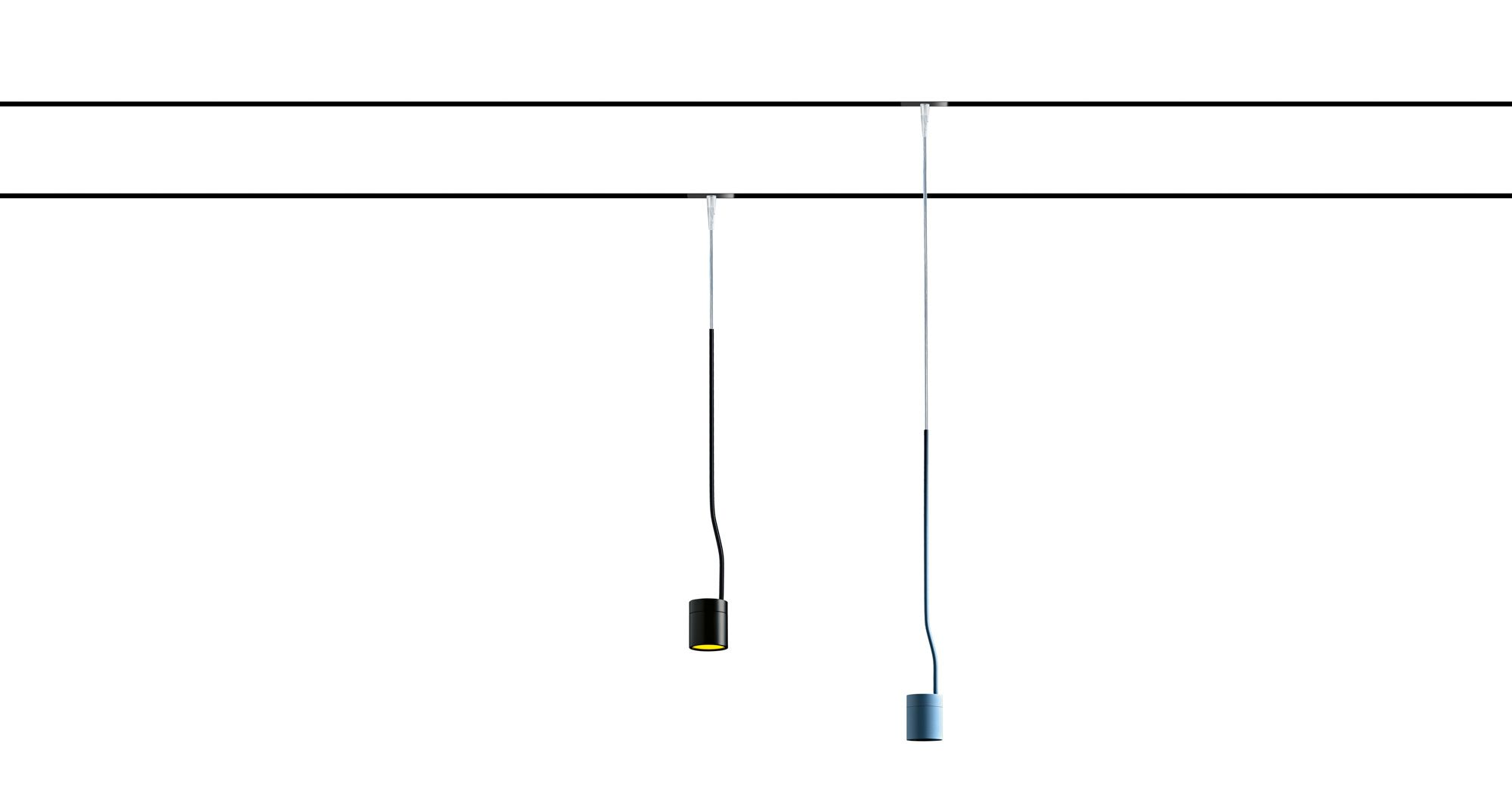 Pluriel 48 Pendant To Be Used With A Rear Recessed